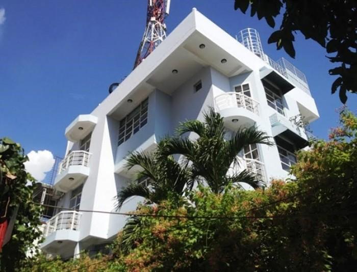 Bán gấp biệt thự 6 tầng góc 2 MT khu Vip Lý Chính Thắng, P.7, Quận 3.