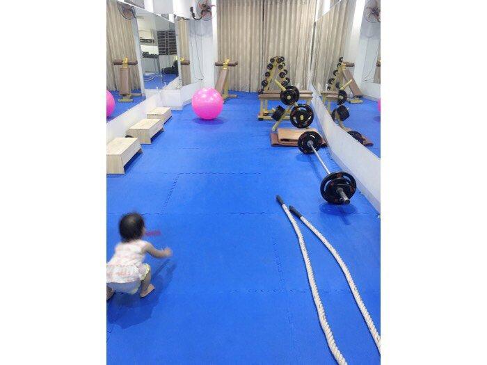 Thảm Lót Phòng Tập Gym Dày 3cm Giá Rẻ Tại Nha Trang,Bình Định,Gia Lai2