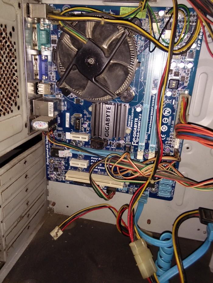 cpu G41 / e5700 / ram 2g dr3 / ổ 80g / nguồn 500w2