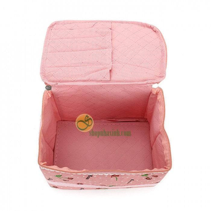 Túi Đựng Mỹ Phẩm Cherry Xinh Xắn NX2193
