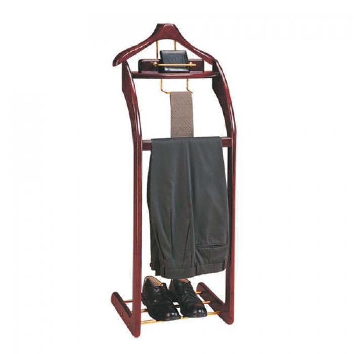 Cây treo áo vest bằng gỗ Mã sản phẩm: BP-CAV-32B Kích thước: (L)410x(W)350x(H)1160 mm Chất liệu: Gỗ, inox Xuất xứ: Hàng nhập khẩu