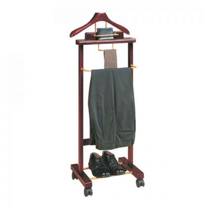 Giá treo quần áo vest Mã sản phẩm: BP-CAV-31 Kích thước: (L)460x(W)350x(H)1210 mm Chất liệu: Gỗ, inox Xuất xứ: Hàng nhập khẩu Có 4 bánh xe di chuyển nhẹ nhàng, êm ái