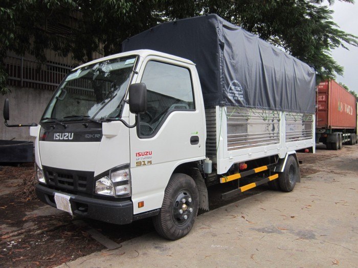 Xe tải Isuzu 1.9 t nâng tải 2 tấn 2, Isuzu 2 tấn 2 giá rẻ miền nam phiên bản ero 4 .