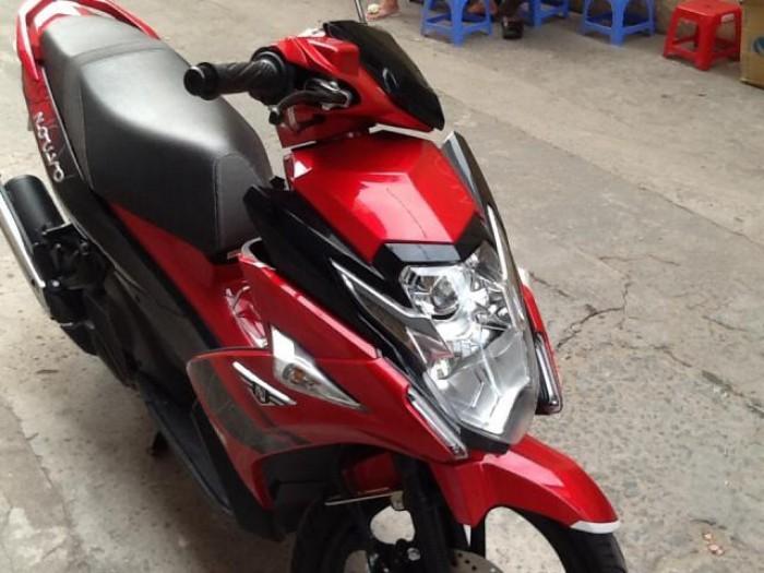 Yamaha Nouvo 6 Fi, màu đỏ đen 26.5 triệu 1