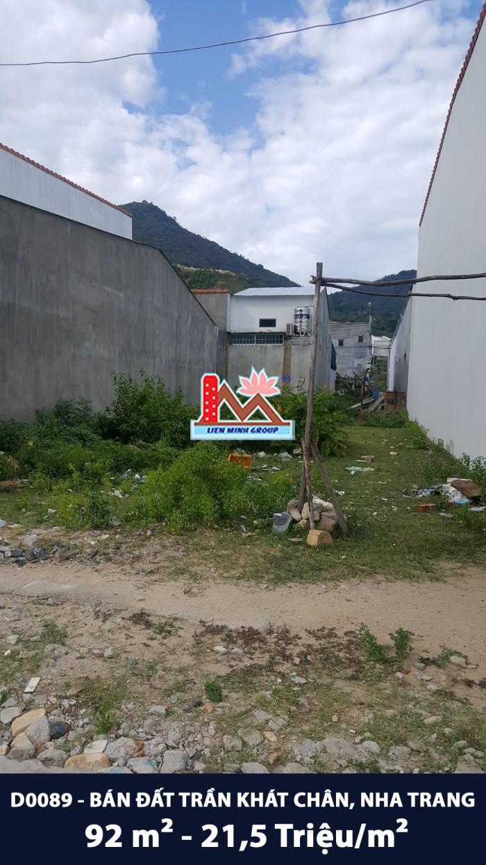 D0089 - Bán đất Trần Khát Chân, Phường Vĩnh Hòa, TP.Nha Trang