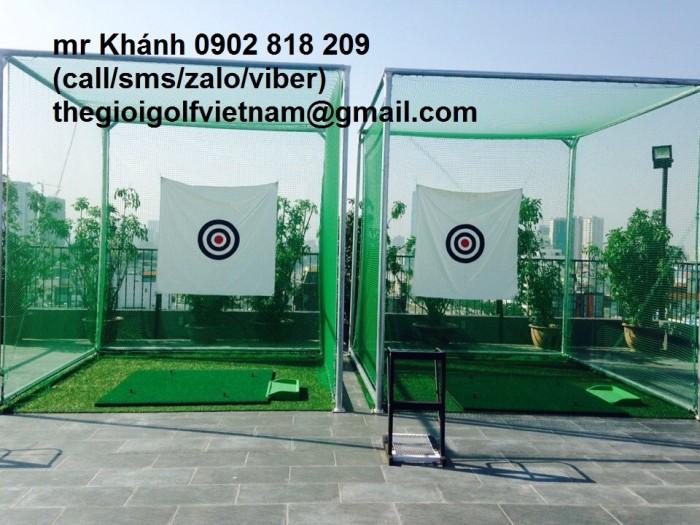 Khung golf, khung golf vuông, lều golf di động1