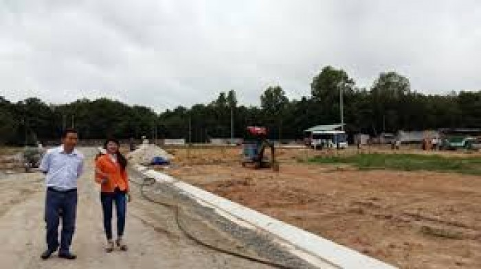Đất thổ cư giá rẻ tại KCN MỚi ,giá 189 Triệu/nền, cách QL22 2Km