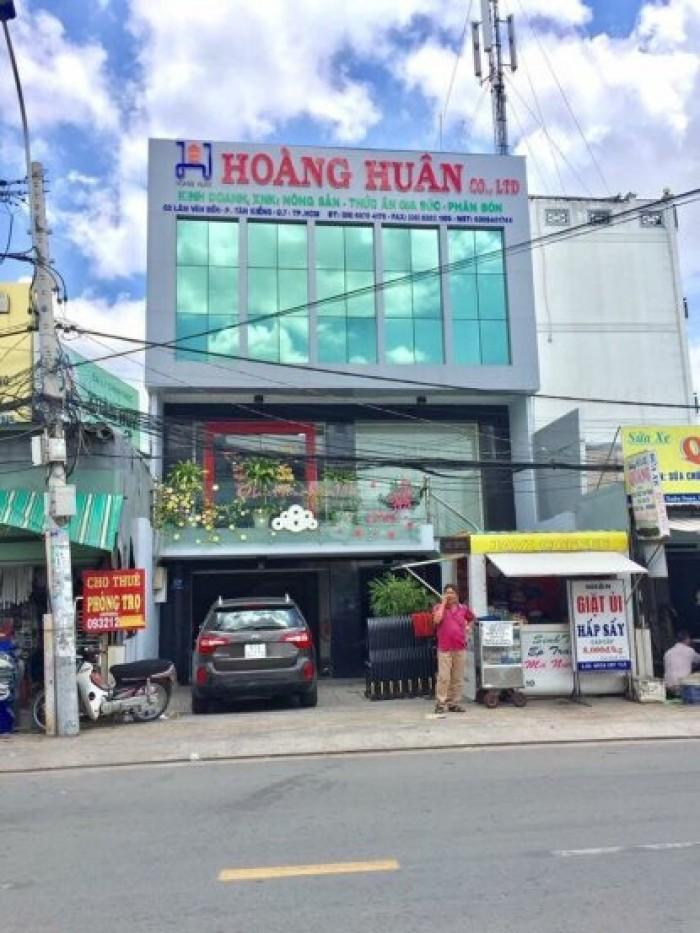 Cần bán gấp nhà mặt tiền Lâm Văn Bền, DT 7,8x17m, 2 lầu.Gía 14,5 tỷ