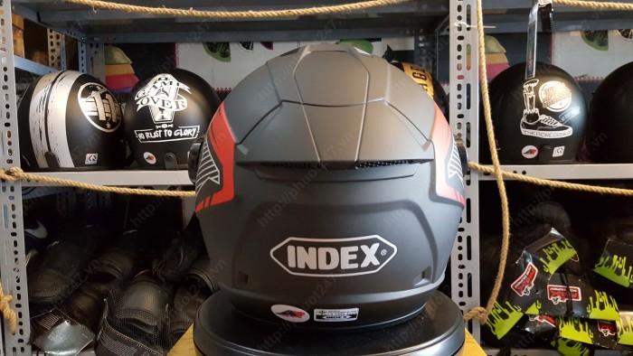 Nón bảo hiểm 3/4 Index Dunk nhập khẩu Thái Lan 100% 3