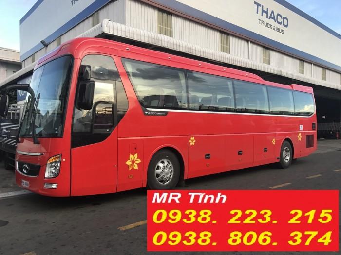 Thông số kỹ thuật, mẫu xe khách universe 45 chỗ 47 chỗ mới nhất của hãng Thaco và Hyundai tại sài gòn