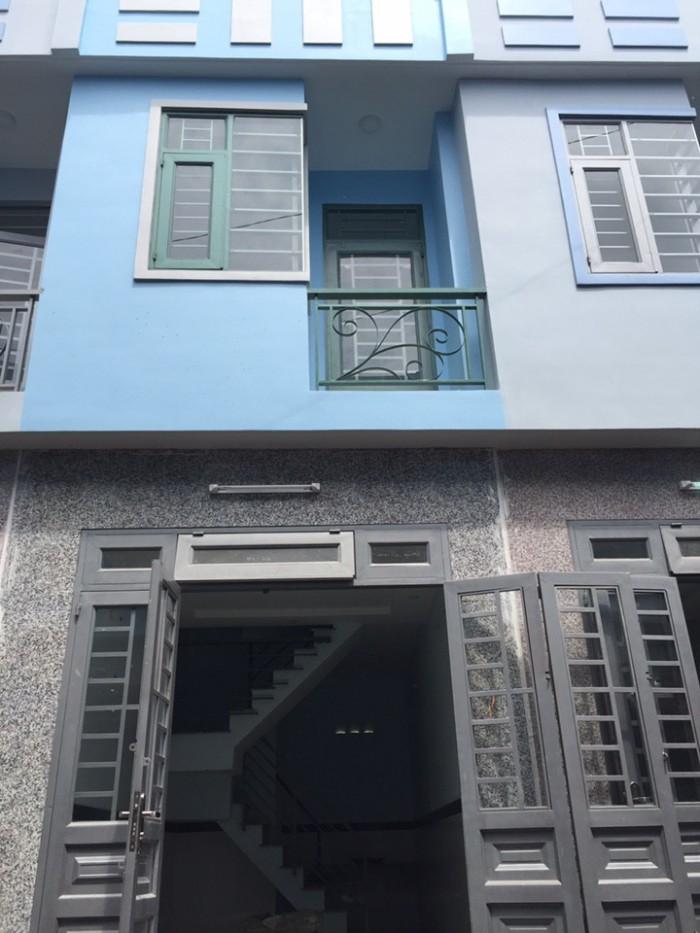Nhà 1 lầu Thạnh Xuân, 2 phòng ngủ, 2 wc, cách ngã tư ga 3km