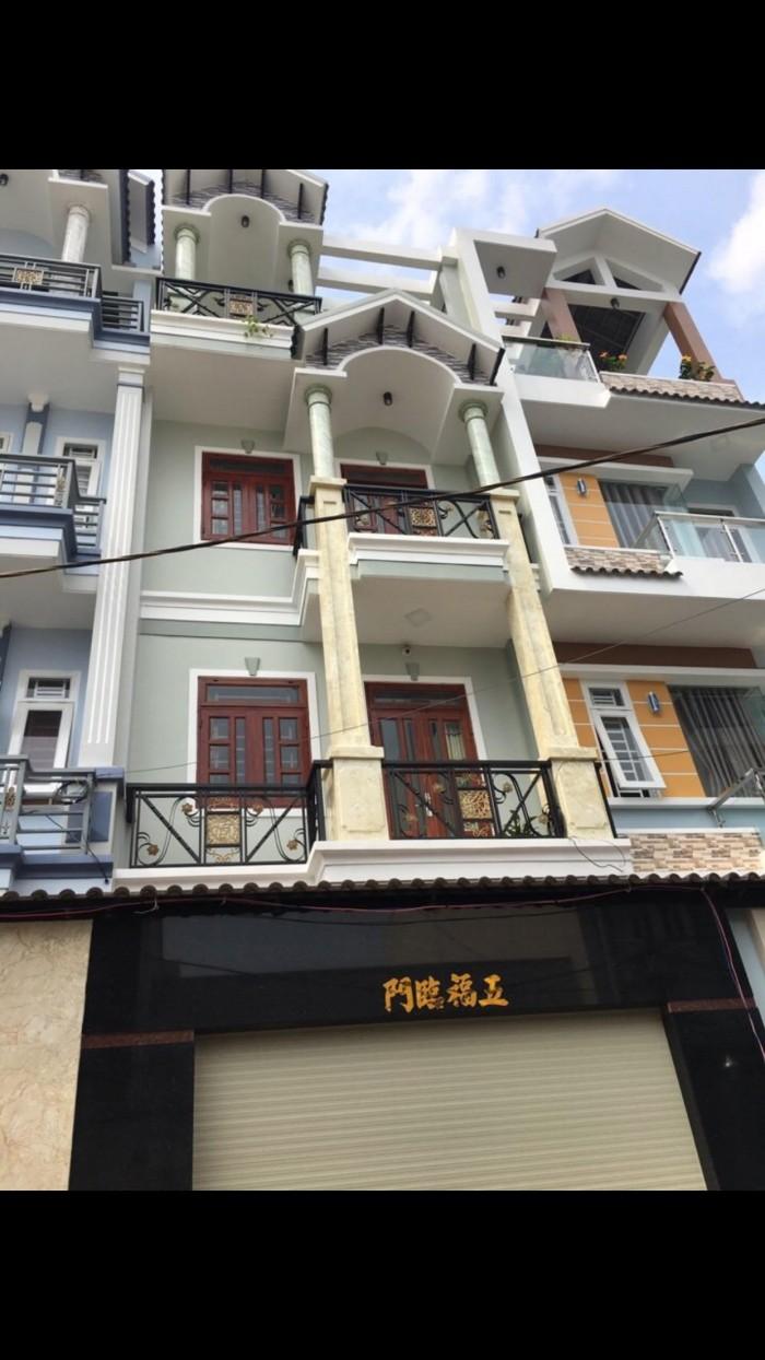 Bán nhà mới rẻ đẹp ,khu toàn nhà Vip dt4.5x13m