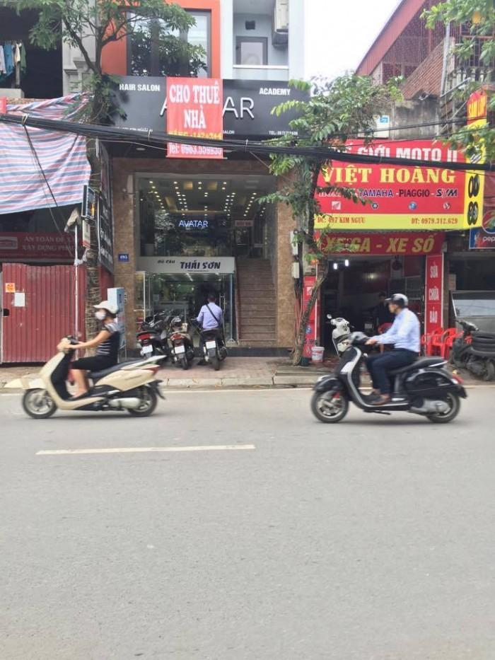 Bán nhà mặt phố Bạch Mai, Hai Bà Trưng nhà đẹp, cầu thang máy, tầng hầm giá 26 tỷ
