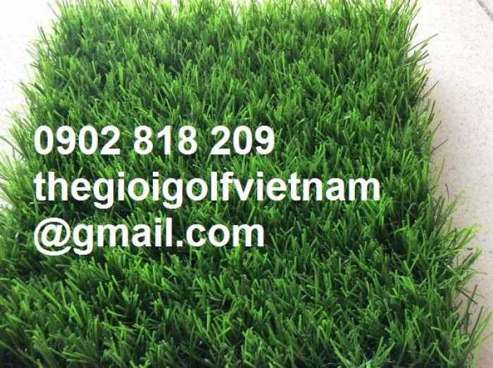 Cỏ nhân tạo trang trí văn phòng, thảm cỏ trải sàn2