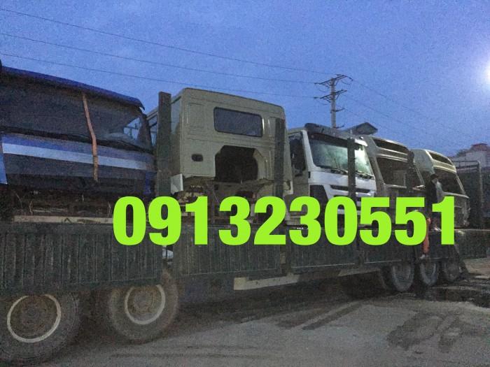 Hàng luôn có sẵn cabin xe tải howo 1