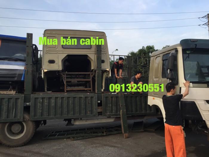 Hàng luôn có sẵn cabin xe tải howo 2