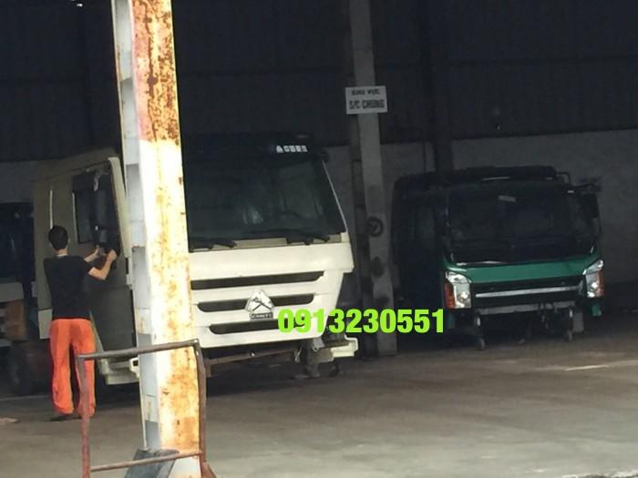 Hàng luôn có sẵn cabin xe tải howo 3