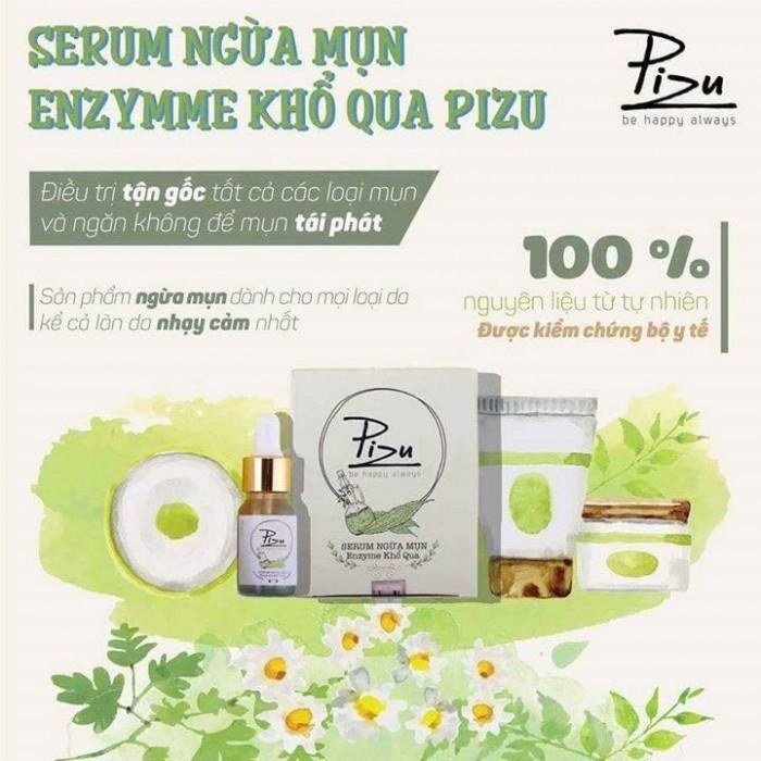 Serum/ Kem chấm mụn khổ qua Pizu