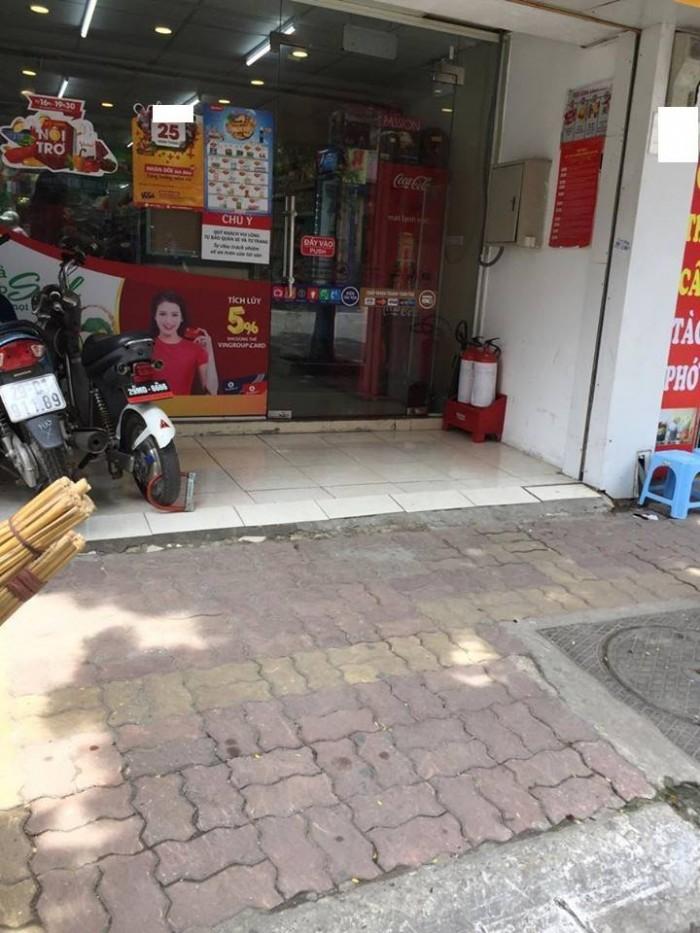 Bán đất mặt phố Bạch Mai, Hai Bà Trưng, vị trí đẹp giá 18.5 tỷ