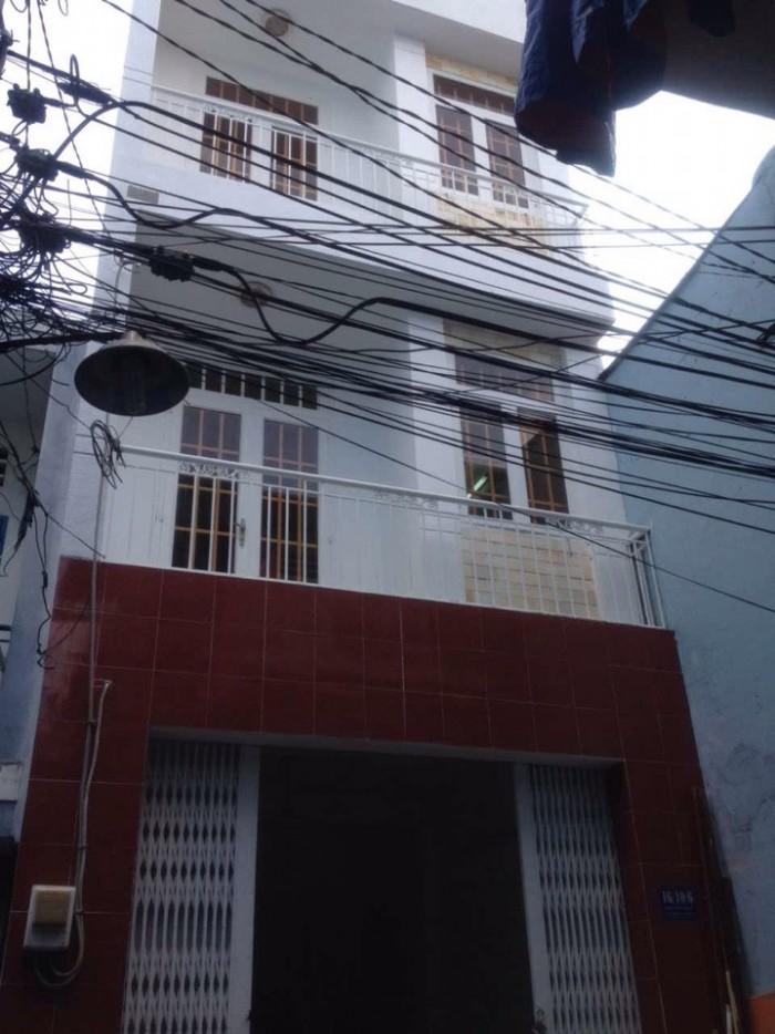 Bán nhà hẻm 5m 3.3x6 giá 1.45 tỷ 2 lầu hẻm 50 lương thế vinh Q. Tân Phú