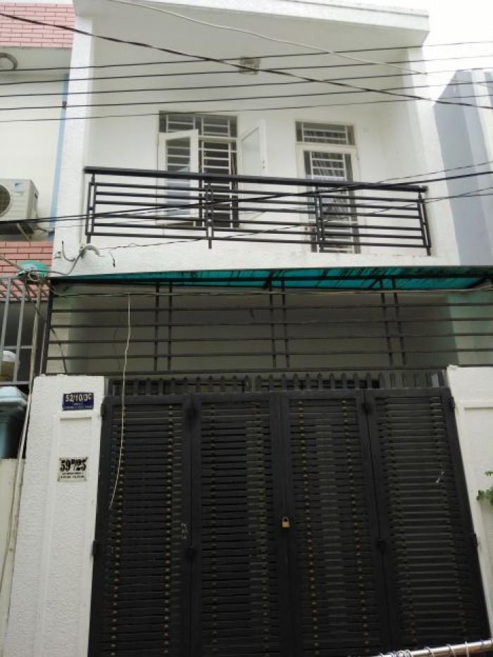 Nhà 1 trệt 1 lầu Trần Văn Mười, Hóc Môn, DT: 5x15m
