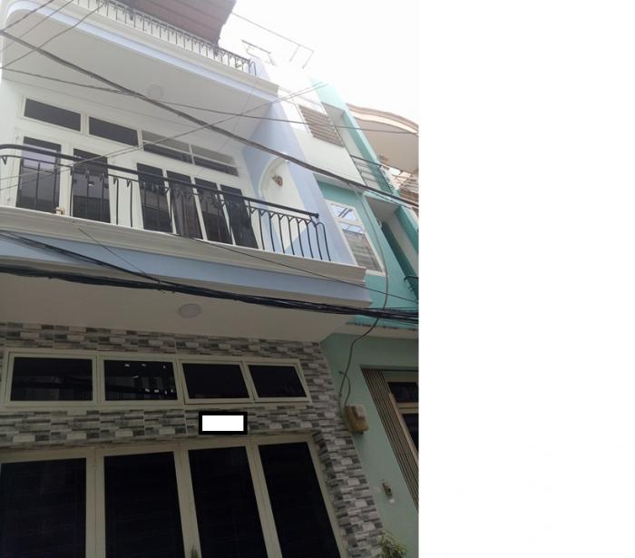 Cần bán nhà hẻm Trường sa phường 13 quận Phú nhuận, giá 6.35 tỷ