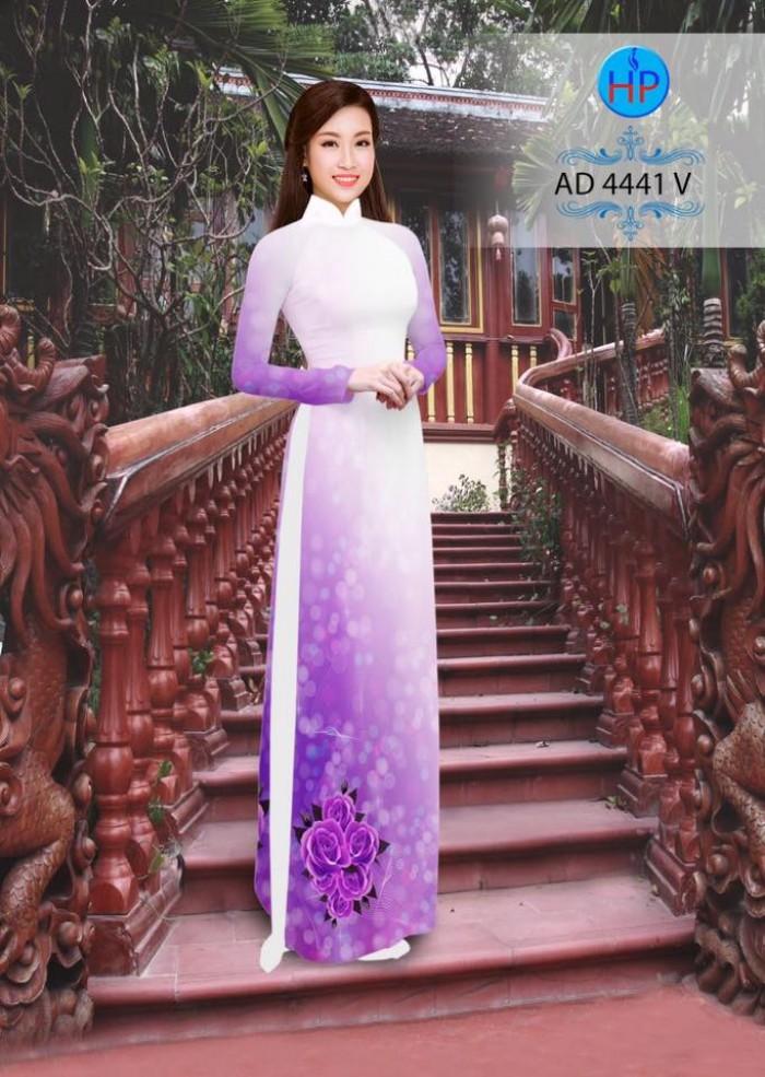 Vải áo dài AD 44410