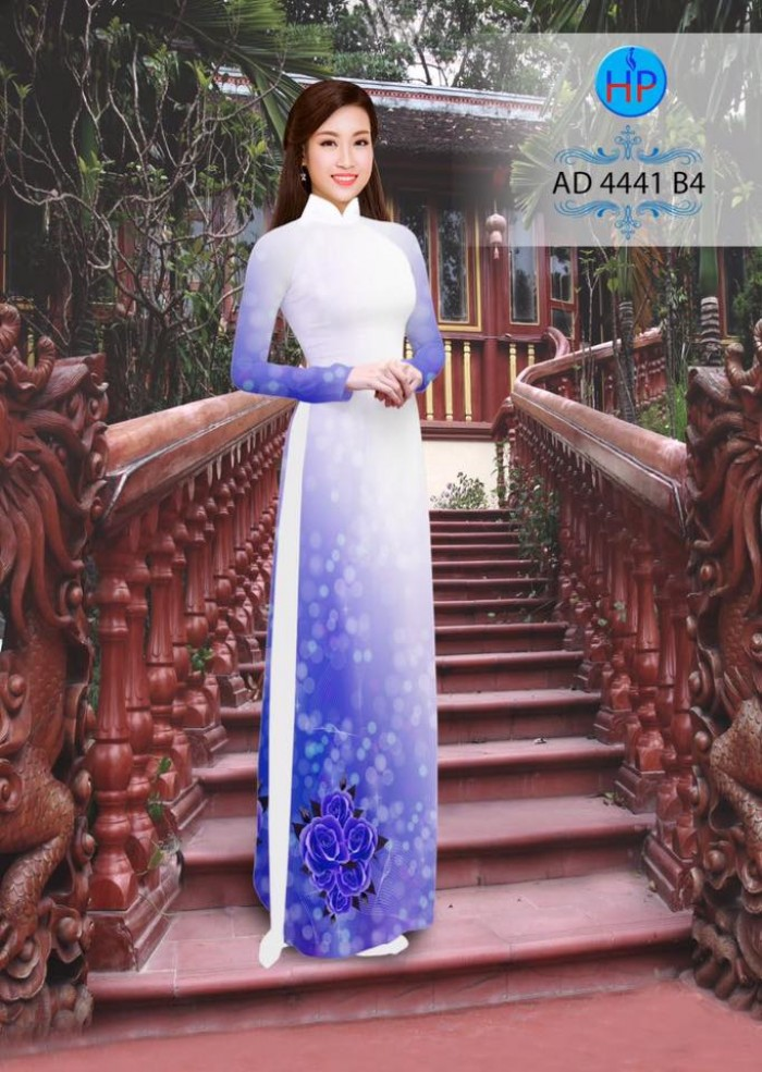Vải áo dài AD 44418