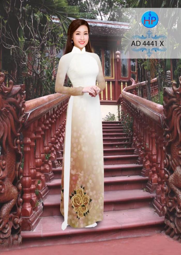 Vải áo dài AD 444110