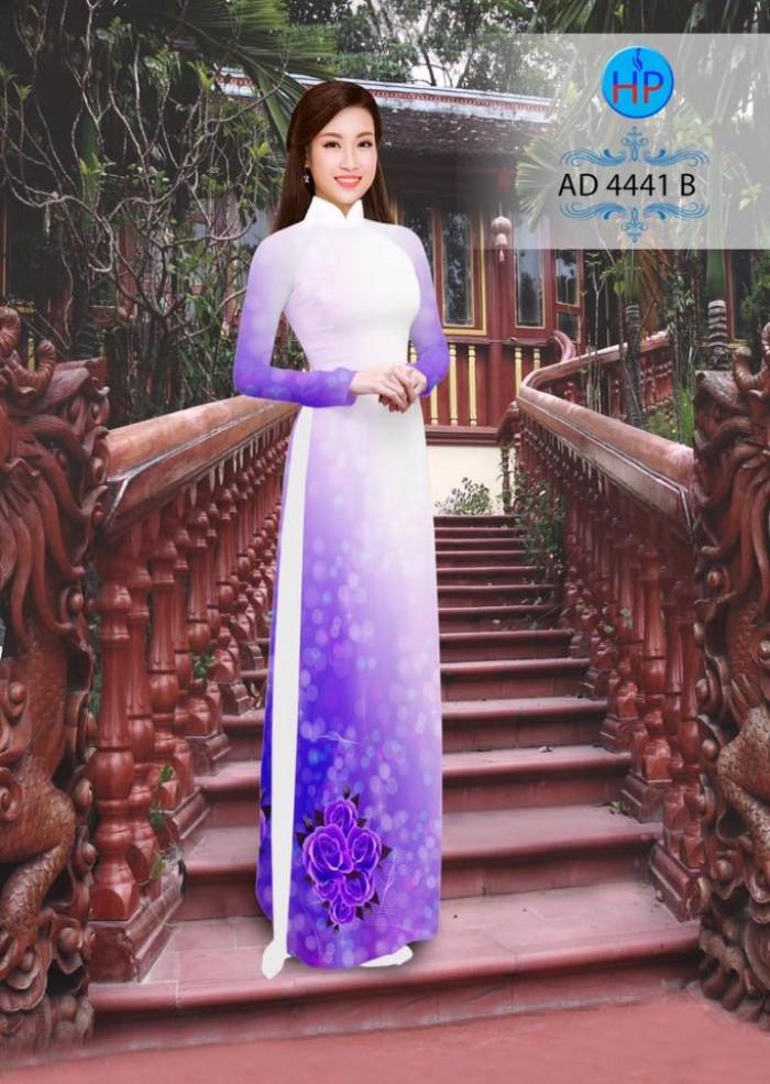 Vải áo dài AD 444111