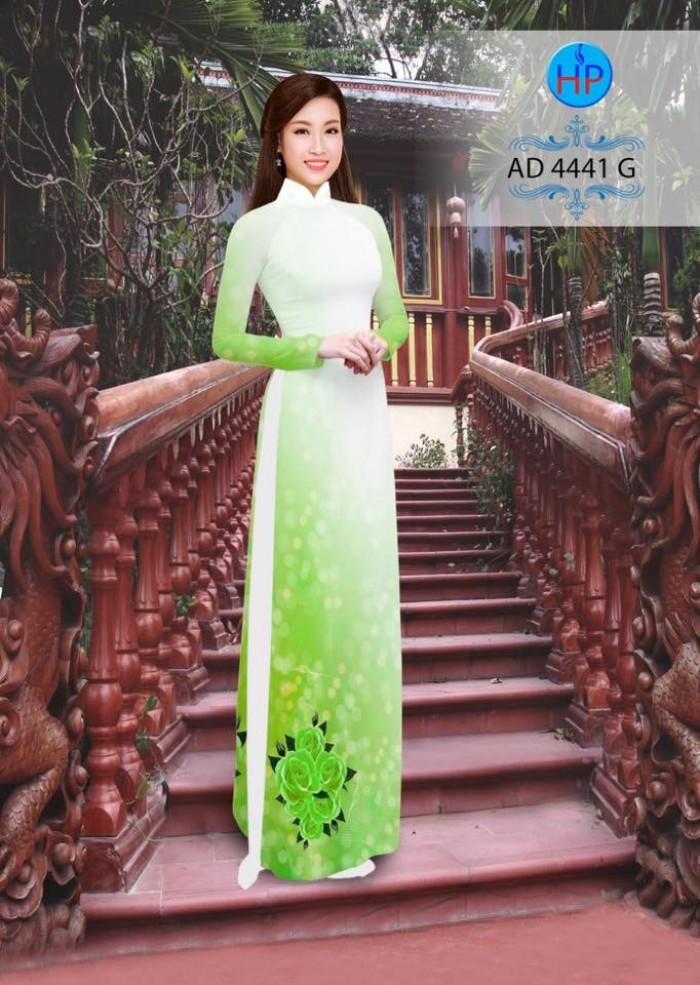 Vải áo dài AD 444112