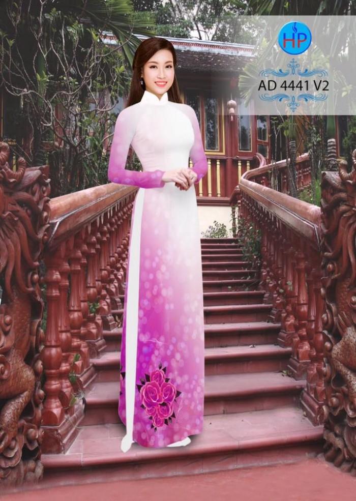 Vải áo dài AD 444113