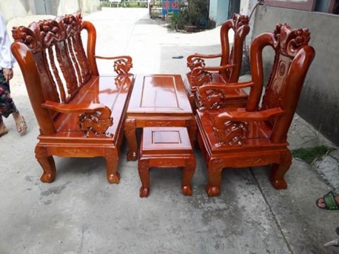 Bộ bàn ghế sồi nga tay 10 Đổ Gỗ Mạnh Tráng miễn phí giao hàng trong bán kính 30km1
