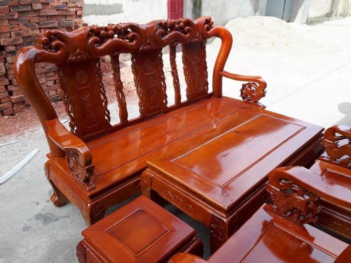 Bộ bàn ghế sồi nga tay 10 Đổ Gỗ Mạnh Tráng miễn phí giao hàng trong bán kính 30km2