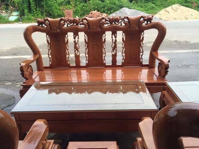 Bộ bàn ghế sồi nga tay 10 Đổ Gỗ Mạnh Tráng miễn phí giao hàng trong bán kính 30km6