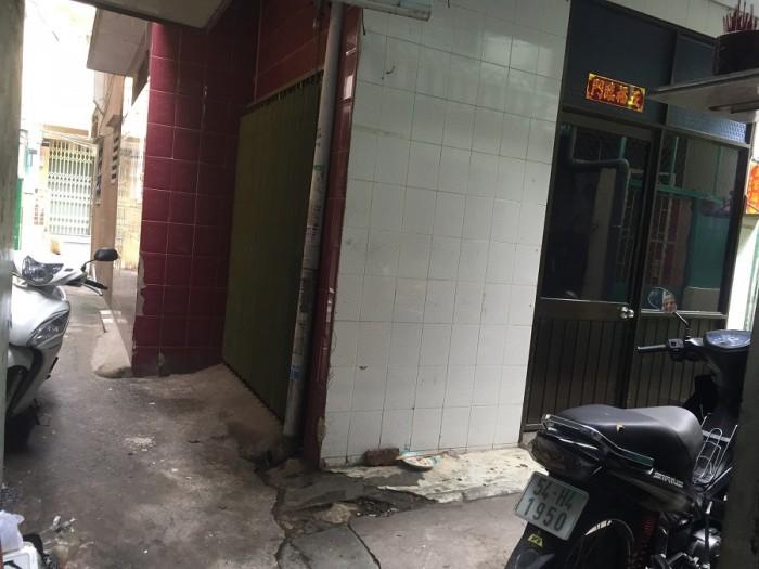 Bán nhà hẻm Nguyễn Trãi Q5 3.5x6.5m 2 lầu đúc Giá 2 tỷ