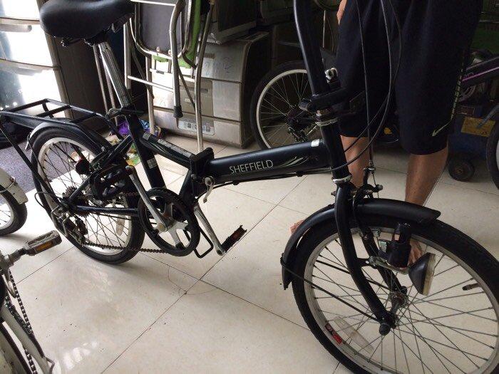 Xe đạp xếp nội địa japan 3