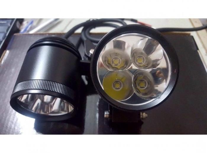 Đèn Pha Led L4 Real L1 Trợ Sáng Cho Xe Máy