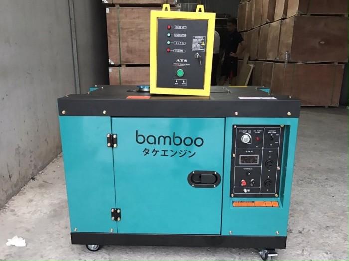 Máy phát điện chạy dầu Bamboo 7kw,8kw công nghệ Nhật bản0
