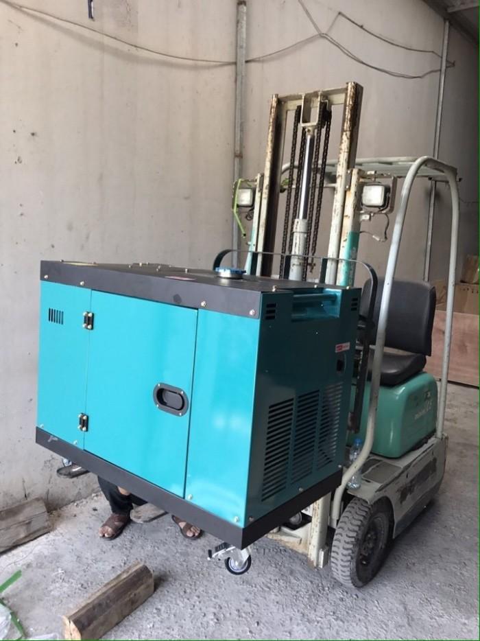 Máy phát điện chạy dầu Bamboo 7kw,8kw công nghệ Nhật bản3