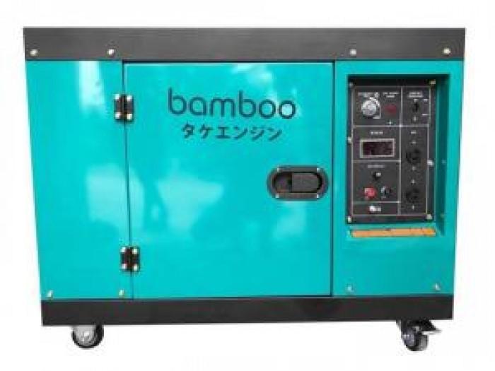 Máy phát điện chạy dầu Bamboo 7kw,8kw công nghệ Nhật bản2
