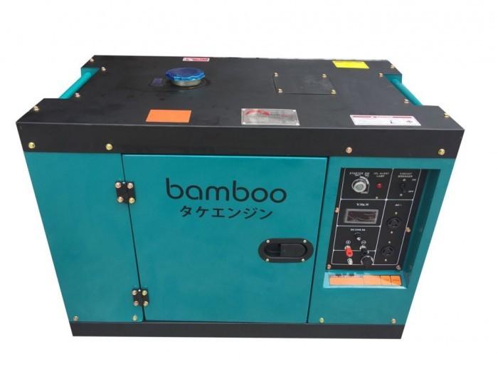Máy phát điện chạy dầu Bamboo 7kw,8kw công nghệ Nhật bản4