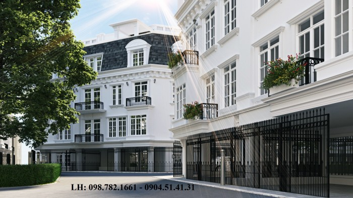 Nhà phố 58 Trúc Khê, Q. Đống Đa – Dự án Porte De Ville – Tặng thang máy 500 triệu – Chiết khấu ưu đãi