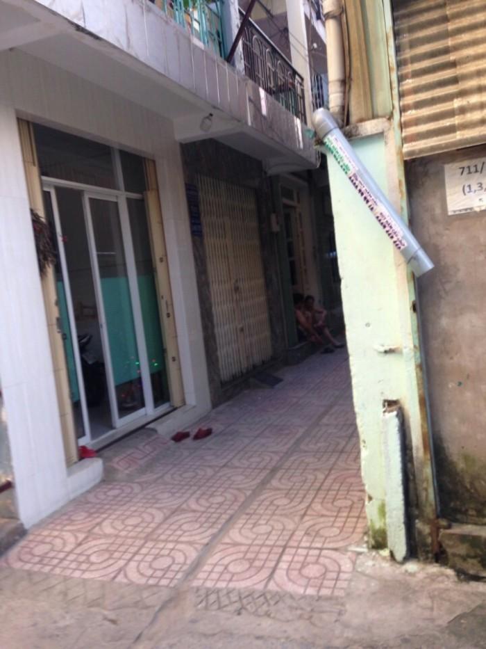 Bán nhà lầu đúc thật hẻm3m Luỹ Bán Bích, dt: 3x9, giá: 2.07 tỷ, P. Hoà Thạnh, Q. Tân Phú