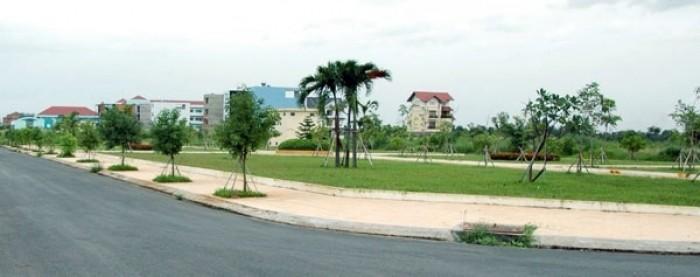 Đất liền kề KCN theo tiêu chuẩn Nhật mặt tiền đường 32m, sổ hồng riêng, thổ cư 100%