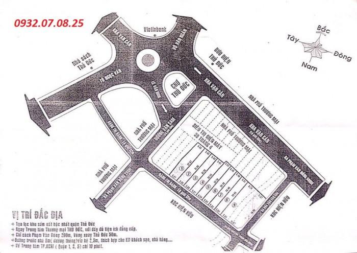 Bán đất thổ cư,sát chợ Thủ Đức, giá 26,3tr/m2