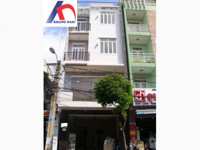 Cho thuê nhà 2MT Q.3, (DT: 8x8m, trệt, lửng, 2 lầu, st). Giá: 80tr/th