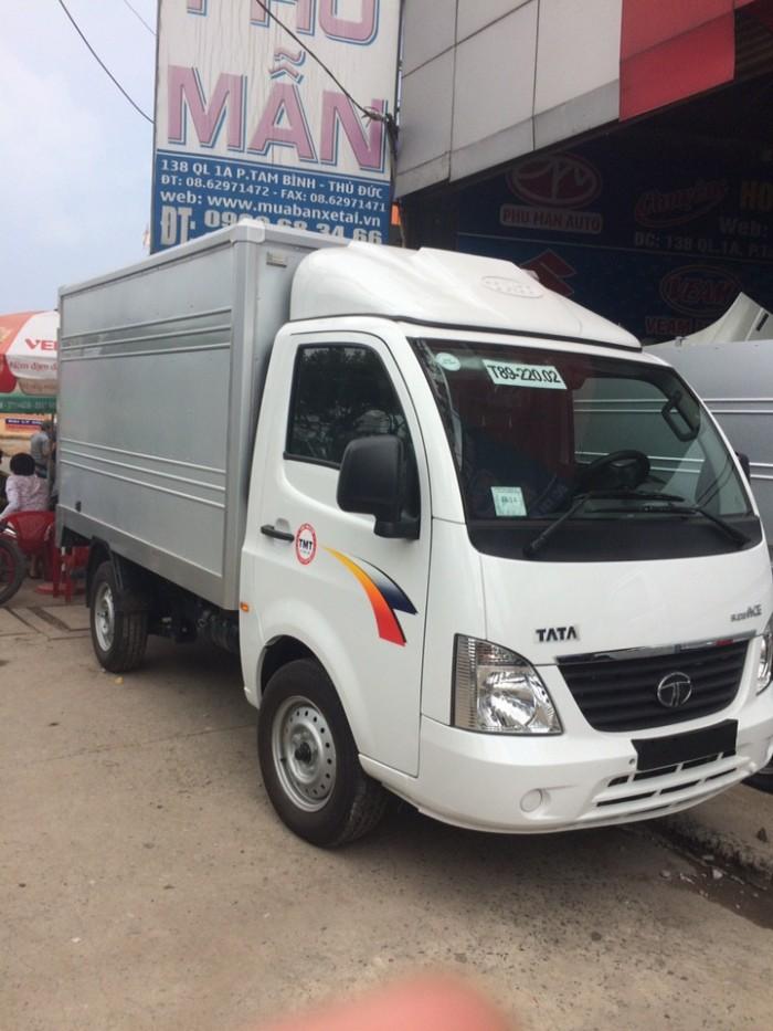 Xe tải TATA Ấn Độ 1 tấn 2 xe mới chạy bền nhất phân khúc cùng tải trọng 0