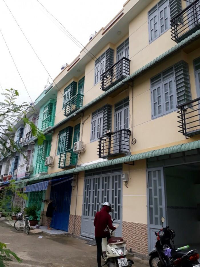 nhà Tô Ngọc Vân Q12, ngay ngã tư ga DT 4x6m, 2 lầu, đường 8m