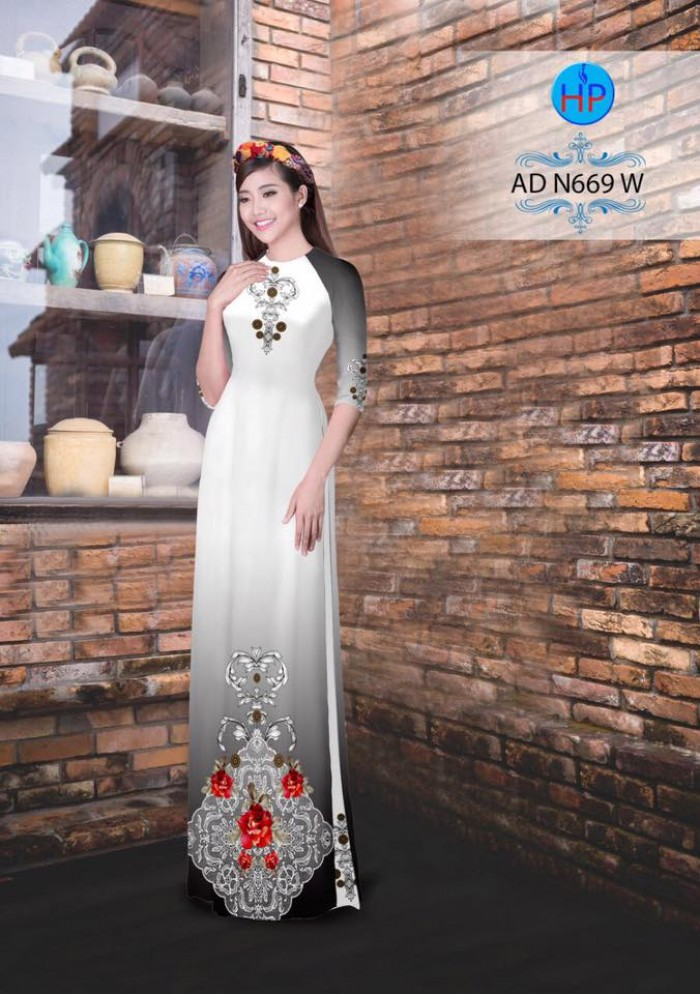 Vải áo dài AD N6693